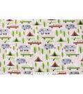 Anti-Pill Fleece Fabric 59\u0022-Camping And Pines