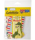 Carta Bella Ephemera Cardstock Die-Cuts Frames & Tags-Toy Box