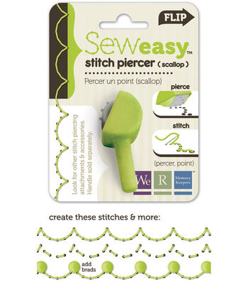 We R Memory Keepers Sew Easy Stitch Piercer Scallop