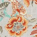Williamsburg Multi-Purpose Decor Fabric 54\u0027\u0027-Persimmon Braganza
