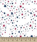 Patriotic Stars Print Fabric