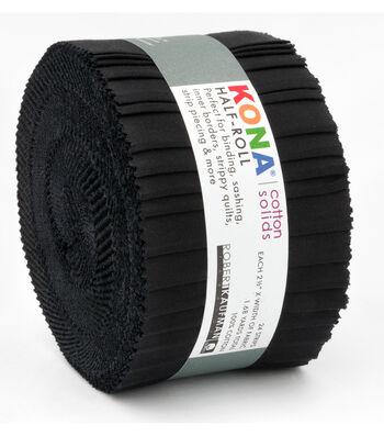 Kona Fabric Roll-Black