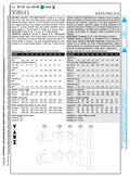 Mccall Pattern V8641 18-20-22-2-Vogue Pattern
