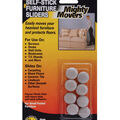 Mighty Movers Self-Stick Furniture Sliders .7\u0022 Round
