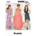 Simplicity Pattern 1691D5 4-6-8-10-1-Misses Special Occas