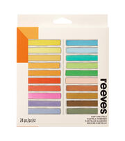 Reeves Soft Pastel Set 24/Pkg-Assorted Colors, , hi-res