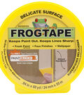 FrogTape 0.9\u0022 X 60yd Delicate Surface Masking Tape-Yellow