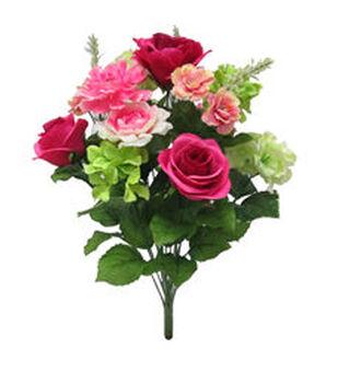 Bloom Room Rose, Hydrangea & Zinnia Mixed Bush