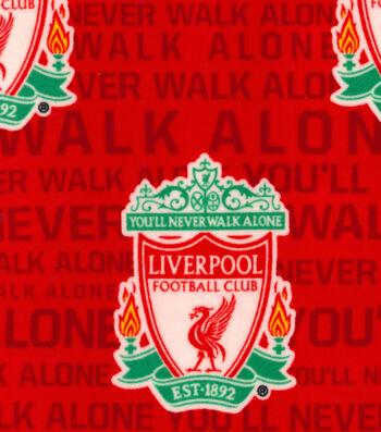 Liverpool Football Club Fleece Fabric 58''