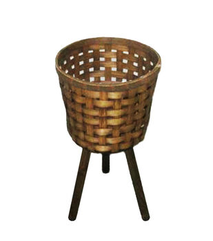 In the Garden 21'' Bamboo Plant Stand