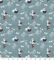 Disney Frozen 2 Cotton Fabric-Olaf Snows It All, , hi-res