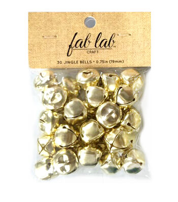 "3/4"" Big Value Gold Bells"