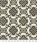 Tommy Bahama Outdoor Fabric 9\u0022x9\u0022 Swatch-Medallion Isle Black Sand