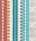 Home Decor 8\u0022x8\u0022 Fabric Swatch-Genevieve Gorder Ancient Stripe Abodo