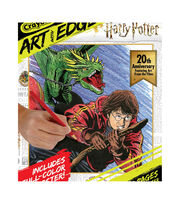 Crayola Art W/Edge Coloring Book-Harry Potter 20th Anniversary, , hi-res