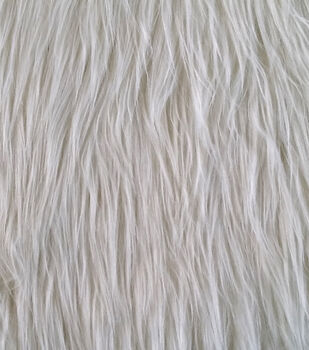 Faux Long Hair Grizzly Fur Fabric