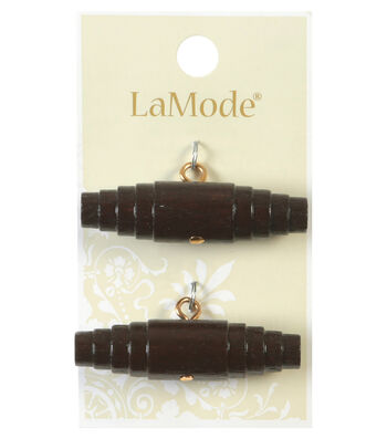 LaMode Dark Wood Toggle