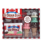 Melissa  &  Doug Scoop And Stack Ice Cream Cone Playset, , hi-res