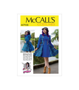 McCall's Pattern M7938 Misses' Costume-Size 6-8-10-12-14
