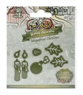 Yvonne Creations Christmas Die-Candle Set