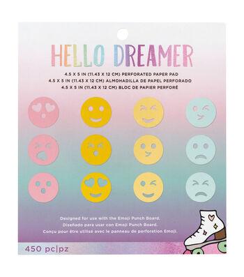 American Crafts Hello Dreamer Emoji Paper Pad