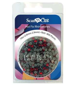Brother ScanNCut 800pc 10SS Rhinestone Refill Pack-Red