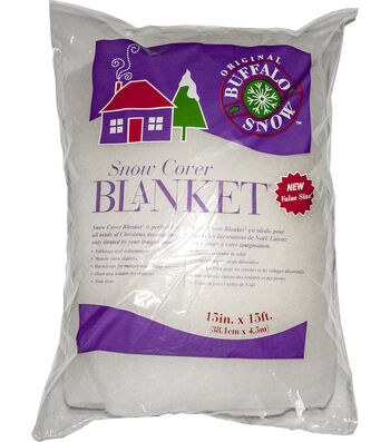 Buffalo Snow Snow Cover Blanket 15 Inches x 15 Inches