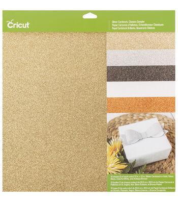 Cricut 12''x12'' Glitter Cardstock Sampler-Classic