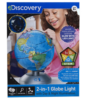Globe 2 In 1 Day And Night Earth