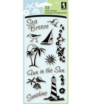 Inkadinkado Clear Stamps-Coastal, , hi-res