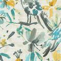 Kelly Ripa Home Upholstery Swatch 13\u0027\u0027x13\u0027\u0027-Pool Flora Flaunt