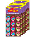 Scoop Squad-Chocolate Stinky Stickers 48 Per Pack, 6 Packs