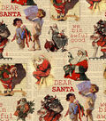 Christmas Cotton Fabric 43\u0022-We\u0027ve Been Awful Good