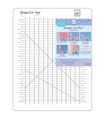 "Shape Cut Plus Ruler-12""X18"""