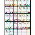 Smart Poly Chart 13\u0022x19\u0022 ABC Pictures 10pk