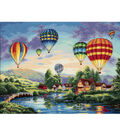 Dimensions 16\u0022x12\u0022 Counted Cross Stitch-Balloon Glow