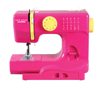 Janome Derby Portable Sewing Machine- Fast Lane Fuchsia