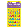 Trend Enterprises Inc. Merry Music Sparkle Stickers, 72 Per Pack