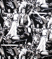 Star Wars Cotton Fabric -Classic Characters, , hi-res
