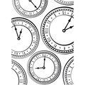 Darice Embossing Folder Clock