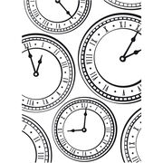 Darice Embossing Folder Clock, , hi-res