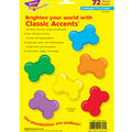 Dog Bones Classic Accents Variety Pack, 72 Per Pack, 6 Packs