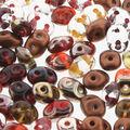 Beadsmith SuperDuo Seed Beads-Aumtumn Fire