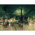 RIOLIS 15.75\u0027\u0027x11.75\u0027\u0027 Counted Cross Stitch Kit-Bastille Painting