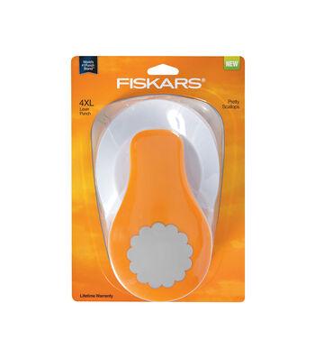 Fiskars 4XL Lever Punch-Pretty Scallops