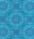 Snuggle Flannel Fabric -Bloom Medallions