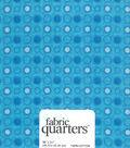 Fabric Quarters Cotton Fabric 18\u0022-Assorted Blue