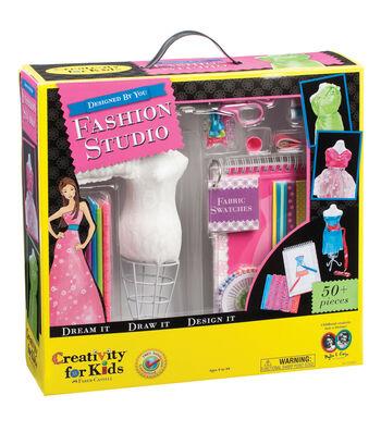 Creativity for Kids Kit Fashion Design Studio