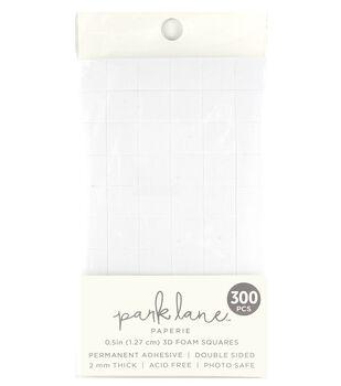 Park Lane Paperie 300 pk 2 mmx0.5'' Adhesive 3D Foam Squares