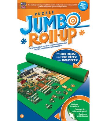 "Jumbo Puzzle Roll-Up-48""X36"" For Up To 3000 Pieces"